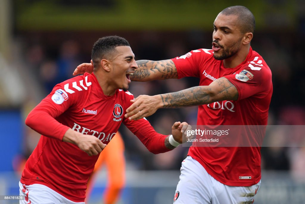 AFC Wimbledon v Charlton Athletic - The Emirates FA Cup Second Round : News Photo