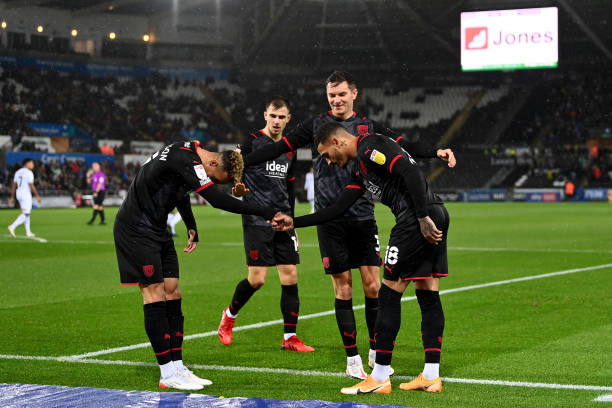 GBR: Swansea City v West Bromwich Albion - Sky Bet Championship