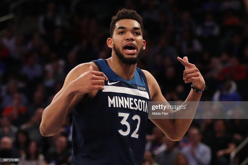 Minnesota Timberwolves v New York Knicks : News Photo