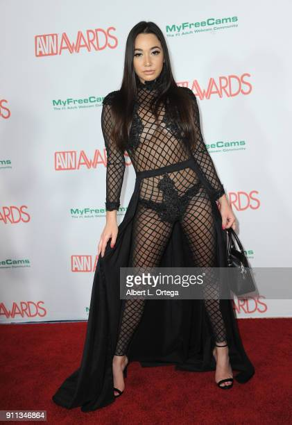 Karlee Grey attends the 2018 Adult Video News Awards held at Hard Rock Hotel & Casino on January 27, 2018 in Las Vegas, Nevada.