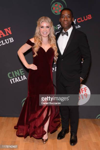 Karlee Rose and Jaze Bordeaux attends the Italian Party Club at TIFF 2019 at Artscape Daniels on September 10 2019 in Toronto Canada