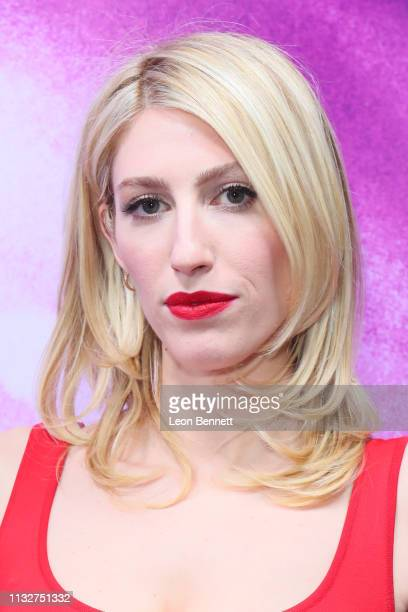 Karley Sciortino attends New Starz Series Now Apocalypse Premiere Arrivals at Hollywood Palladium on February 27 2019 in Los Angeles California