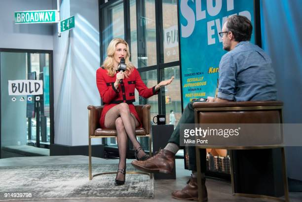 Karley Sciortino visits Build Series to discuss her new book 'Slutever' at Build Studio on February 6 2018 in New York City