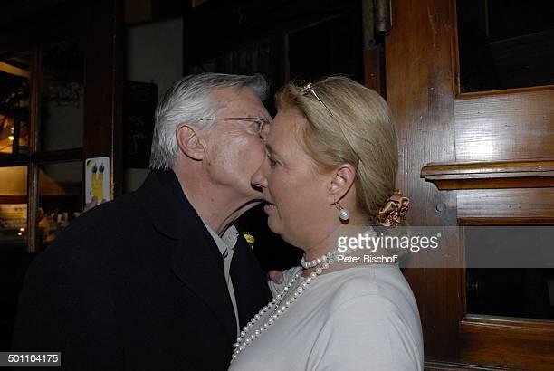 Karlheinz Böhm älteste Tochter Sissy Böhm Prinzessin zu Bentheim Premiere Mister Karl Karlheinz Böhm Wut und Liebe GloriaFilmpalast München Bayern...