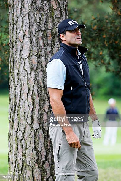 KarlHeinz Riedle attends the 'Camp David Eagles Hauptstadt Golf Cup' on May 19 2014 in Berlin Germany