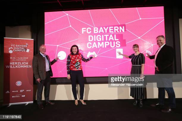 Karl-Heinz Rummenigge; CEO of FC Bayern Muenchen, Dorothee Bär, Minister of State to the Federal Chancellor Government Commissioner for Digital...