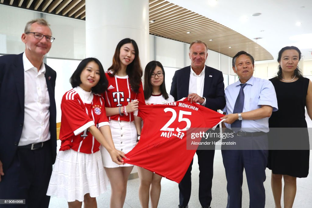 FC Bayern Muenchen Audi Summer Tour - Day 4 : News Photo