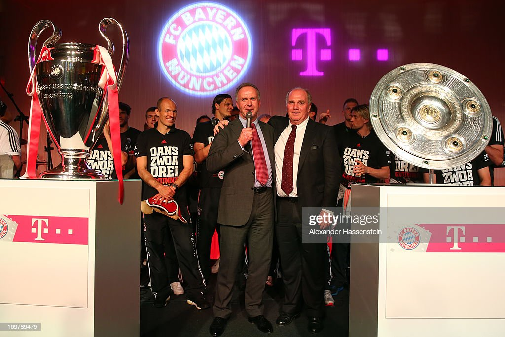 FC Bayern Muenchen Champions Party - DFB Cup Final Photos and ...
