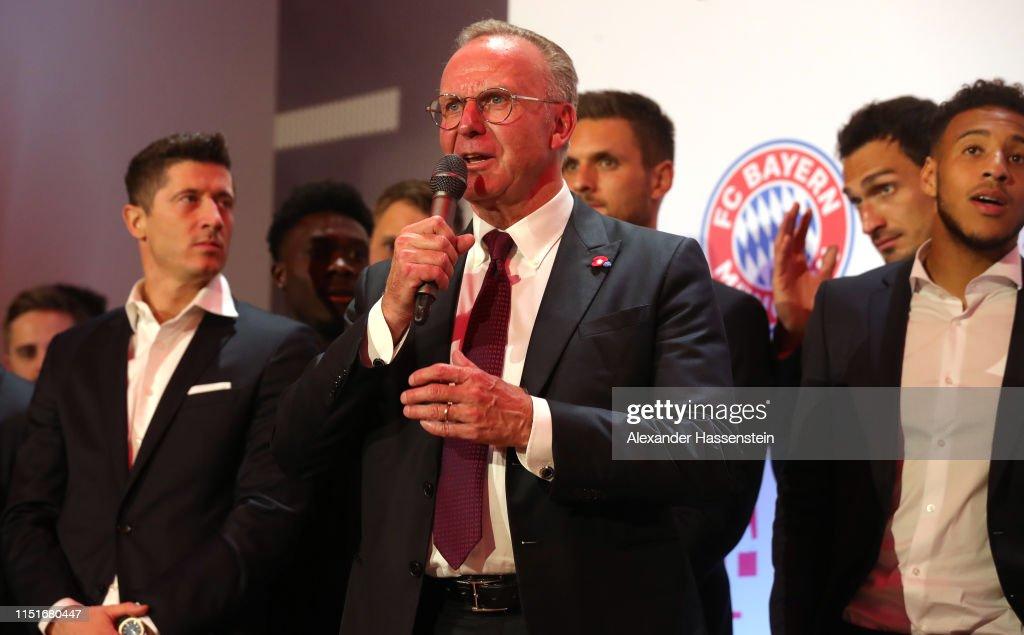 DEU: FC Bayern Muenchen DFB Cup Final's Night 2019