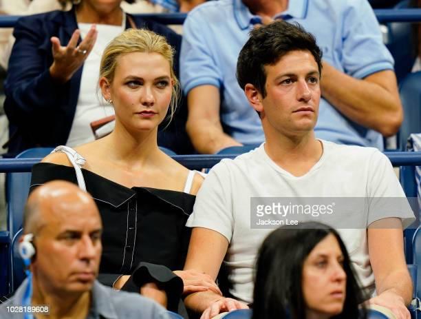 Karlie Kloss and Josh Kushner at 2018 US Open on September 6 2018 in New York City