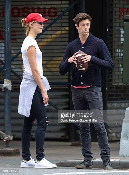 Karlie Kloss and Joshua Kushner are seen on May 22 2016 in New York City