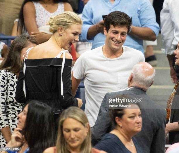 Karlie Kloss and Joshua Kushner at Day 11 of the US Open held at the USTA Tennis Center on September 6 2018 in New York City