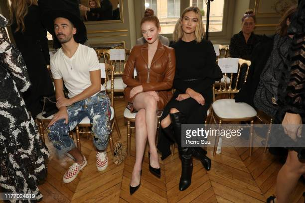 Karlie Kloss and Larsen Thompson attend the Christian Siriano Womenswear Spring/Summer 2020 show as part of Paris Fashion Week on September 25 2019...