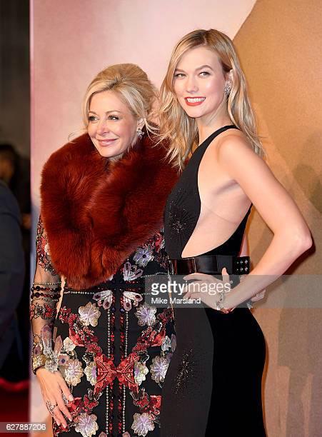 Karlie Kloss and Nadja Swarovski attend The Fashion Awards 2016 on December 5 2016 in London United Kingdom