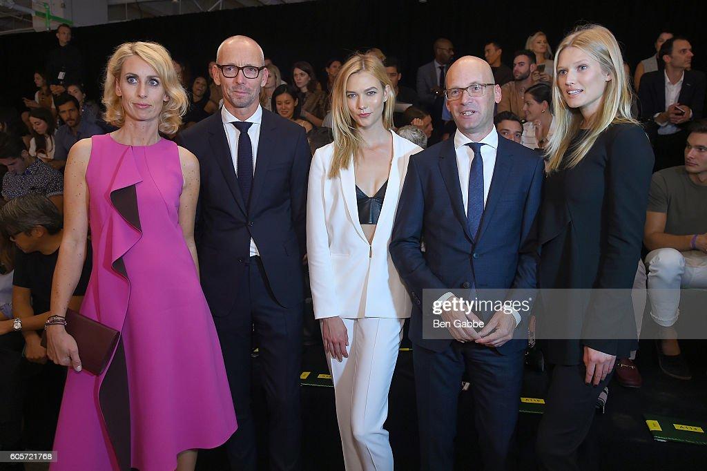 NY: Boss Womenswear - Front Row - September 2016 - New York Fashion Week