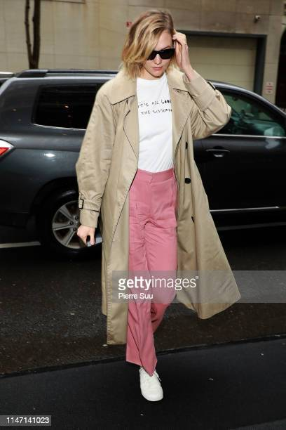 Karlie Kloss arrives at the Mark hotel on May 05 2019 in New York City