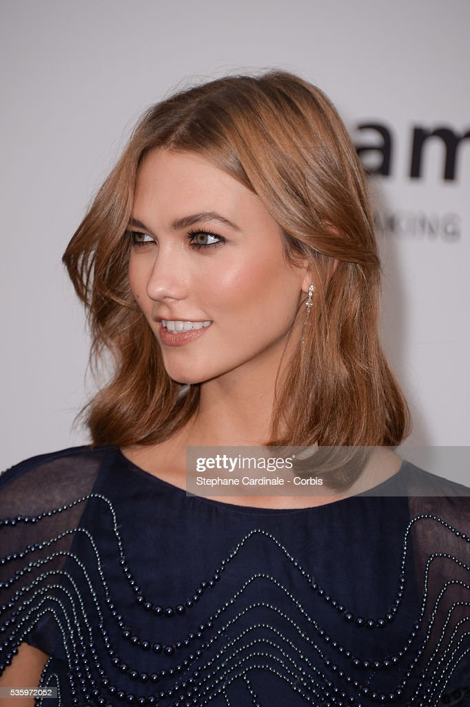 Karlie Kloss at the amfAR's 21st Cinema Against AIDS Gala at Hotel du Cap-Eden-Roc during the 67th Cannes Film Festival