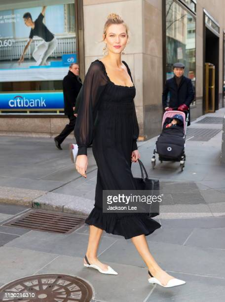 Karlie Kloss at Today show at NBC on March 13, 2019 in New York City.