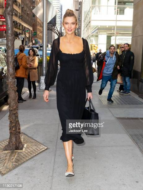 Karlie Kloss at Today show at NBC on March 13 2019 in New York City