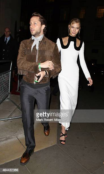 Karlie Kloss attending the Warner Music post BRIT awards party at The Freemasons Hall on February 25 2015 in London England
