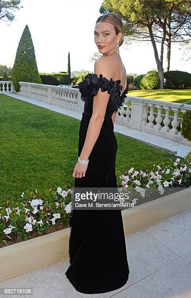 Karlie Kloss attends amfAR's 23rd Cinema Against AIDS Gala at Hotel du CapEdenRoc on May 19 2016 in Cap d'Antibes France