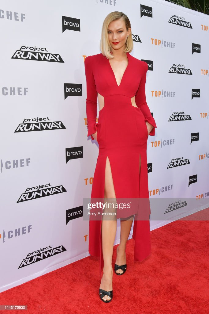 Karlie Kloss Attends Bravo S Top Chef And Project Runway A Night