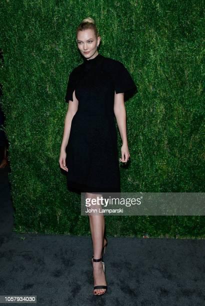 Karlie Kloss attends FDA / Vogue Fashion Fund 15th Anniversary event at Brooklyn Navy Yard on November 5 2018 in Brooklyn New York