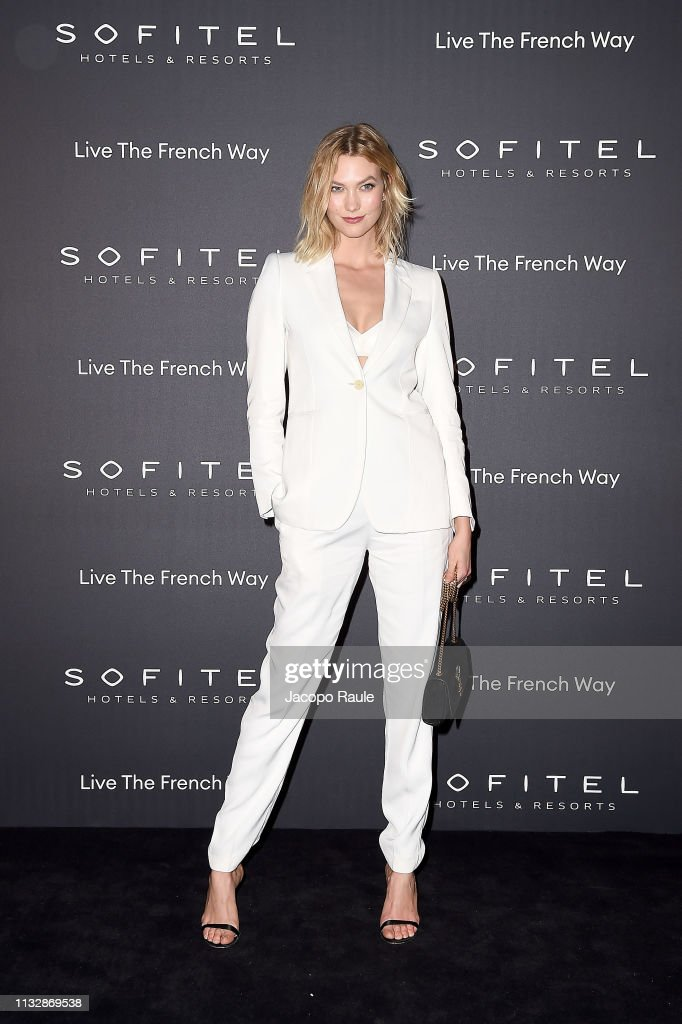 """La Nuit"" by Sofitel Party with CR Fashion Book Photocall - Paris Fashion Week Womenswear Fall/Winter 2019/2020 : News Photo"