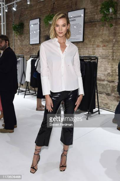 Karlie Kloss attends Misha Nonoo Pop-Up Launch Event on September 09, 2019 in New York City.