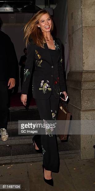 Karlie Kloss attends Naked Heart Foundation Fabulous Fund Fair at Old Billingsgate Market on February 20 2016 in London England