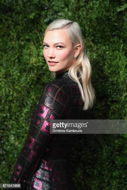 Karlie Kloss attends the 14th Annual CFDA/Vogue Fashion Fund Awards at Weylin B Seymour's on November 6 2017 in the Brooklyn borough of New York City...