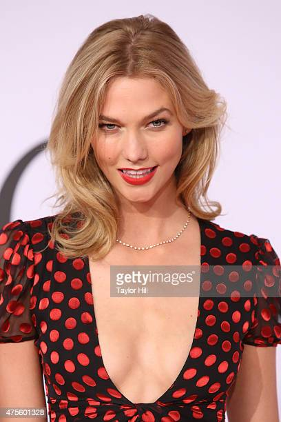 Karlie Kloss attends the 2015 CFDA Awards at Alice Tully Hall at Lincoln Center on June 1 2015 in New York City