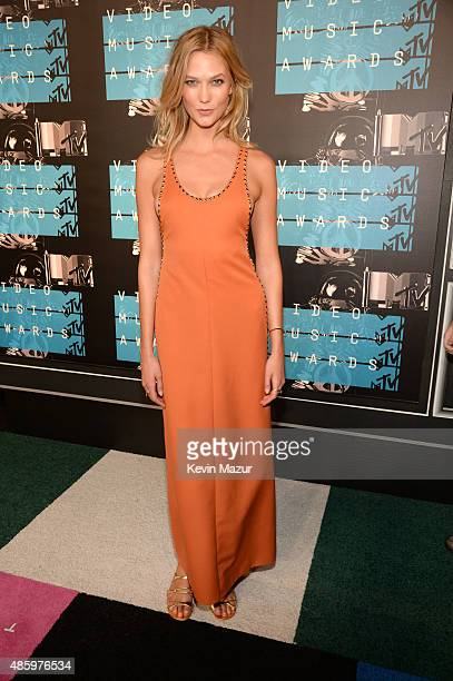 Karlie Kloss attends the 2015 MTV Video Music Awards at Microsoft Theater on August 30 2015 in Los Angeles California