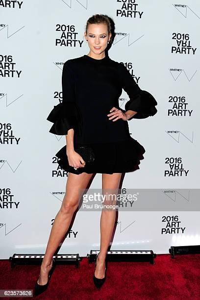 Karlie Kloss attends the 2016 Whitney Art Party at The Whitney Museum of American Art on November 15 2016 in New York City