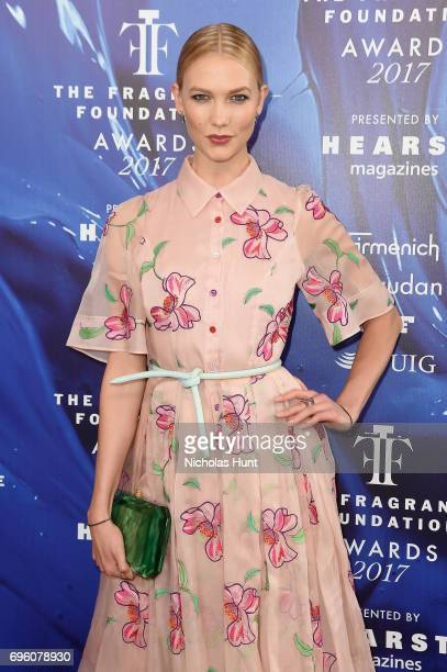 Karlie Kloss attends the 2017 Fragrance Foundation Awards Presented By Hearst Magazines at Alice Tully Hall on June 14 2017 in New York City