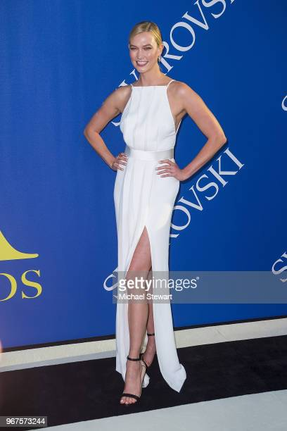 Karlie Kloss attends the 2018 CFDA Fashion Awards at Brooklyn Museum on June 4 2018 in New York City