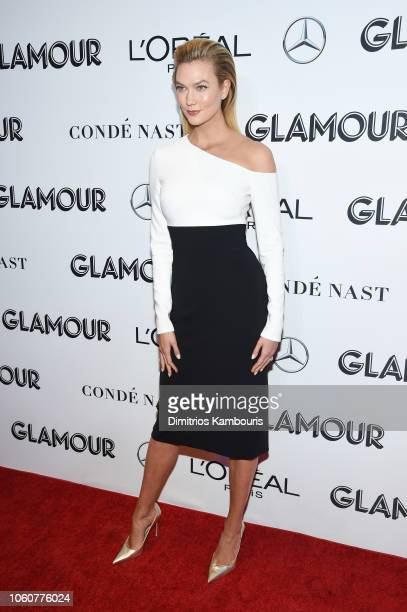 Karlie Kloss attends the 2018 Glamour Women Of The Year Awards: Women Rise on November 12, 2018 in New York City.