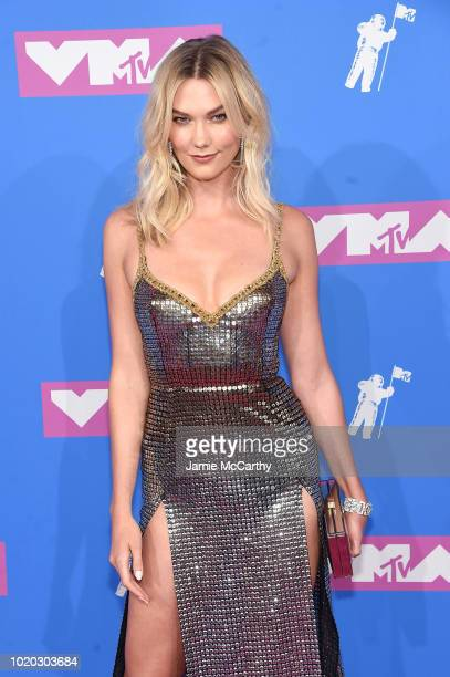 Karlie Kloss attends the 2018 MTV Video Music Awards at Radio City Music Hall on August 20 2018 in New York City