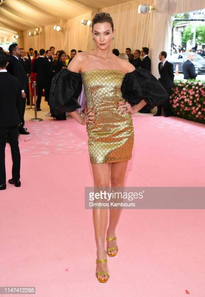 Karlie Kloss attends The 2019 Met Gala Celebrating Camp Notes on Fashion at Metropolitan Museum of Art on May 06 2019 in New York City