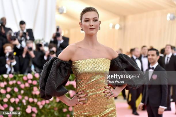 Karlie Kloss attends The 2019 Met Gala Celebrating Camp: Notes on Fashion at Metropolitan Museum of Art on May 06, 2019 in New York City.