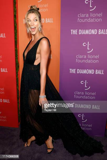 Karlie Kloss attends the 5th Annual Diamond Ball benefiting the Clara Lionel Foundation at Cipriani Wall Street on September 12, 2019 in New York...
