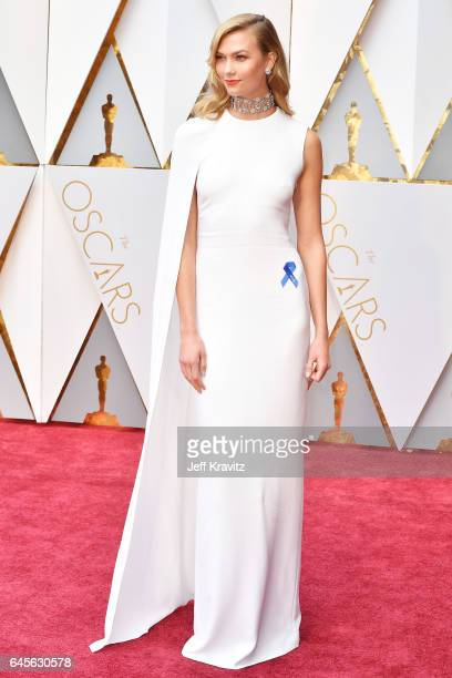 Karlie Kloss attends the 89th Annual Academy Awards at Hollywood Highland Center on February 26 2017 in Hollywood California