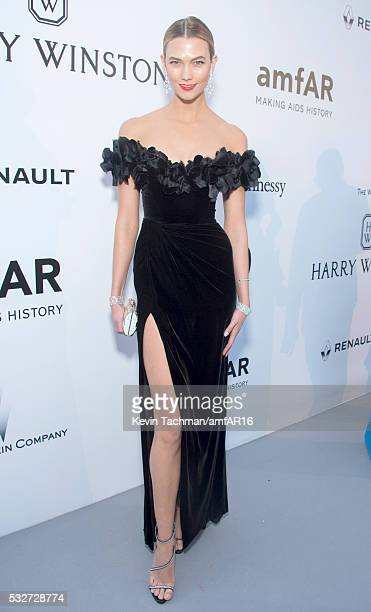 Karlie Kloss attends the amfAR's 23rd Cinema Against AIDS Gala at Hotel du CapEdenRoc on May 19 2016 in Cap d'Antibes France