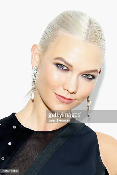 Karlie Kloss attends the Atelier Swarovski By Jason Wu dinner as part of the Paris Fashion Week Womenswear Spring/Summer 2018 on September 28 2017 in...