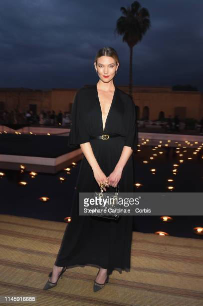 Karlie Kloss attends the Christian Dior Couture S/S20 Cruise Collection on April 29, 2019 in Marrakech, Morocco.