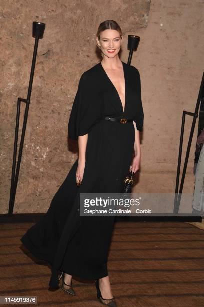 Karlie Kloss attends the Christian Dior Couture S/S20 Cruise Collection on April 29 2019 in Marrakech Morocco
