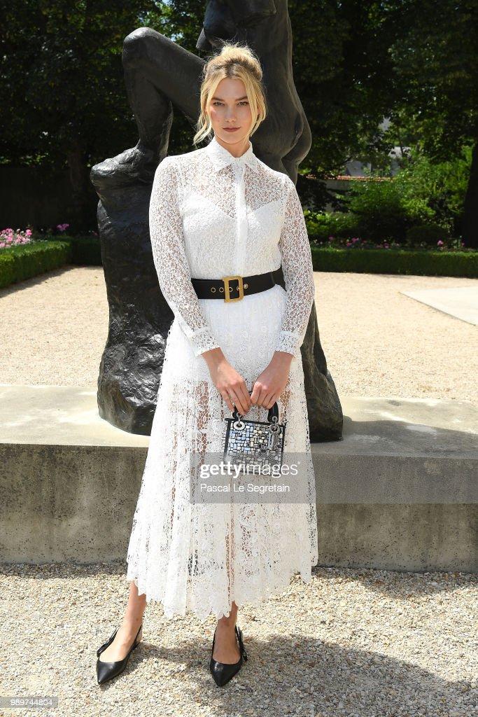 Christian Dior : Photocall - Paris Fashion Week - Haute Couture Fall Winter 2018/2019