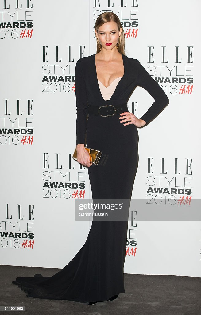 Karlie Kloss attends The Elle Style Awards 2016 on February 23, 2016 in London, England.