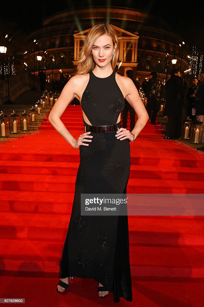 Karlie Kloss attends The Fashion Awards 2016 at Royal Albert Hall on December 5, 2016 in London, United Kingdom.