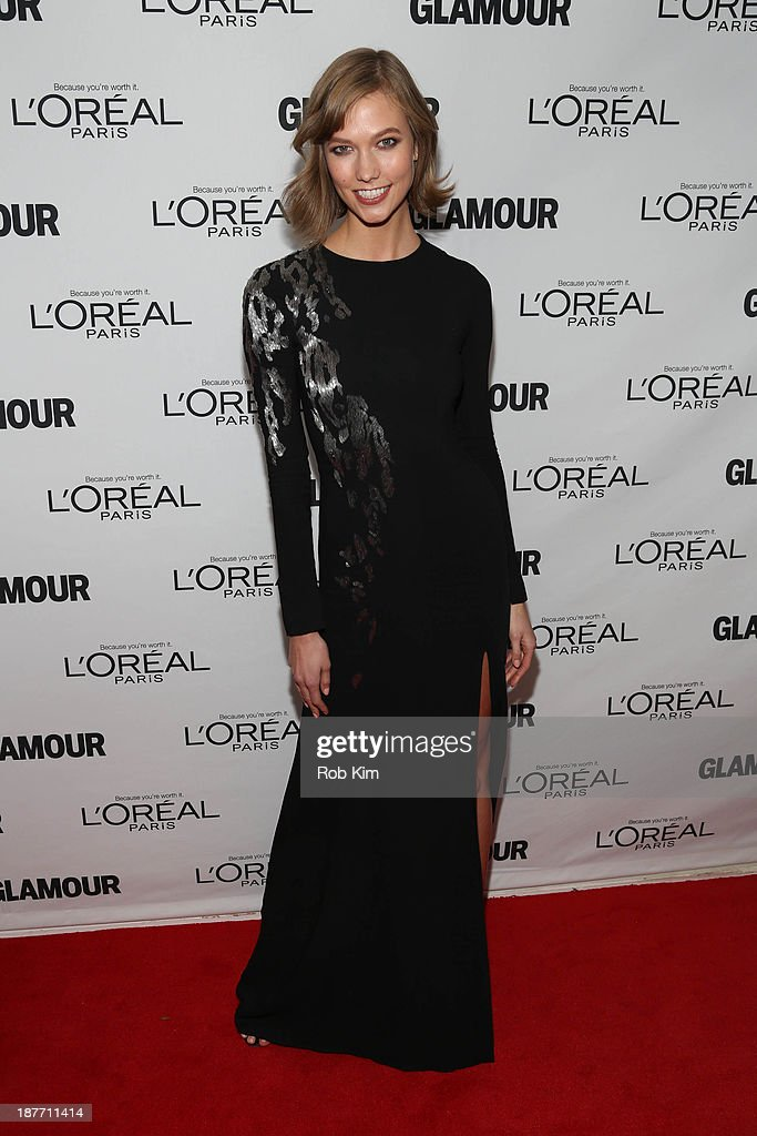 Karlie Kloss attends the Glamour Magazine 23rd annual Women Of The Year gala on November 11, 2013 in New York, United States.